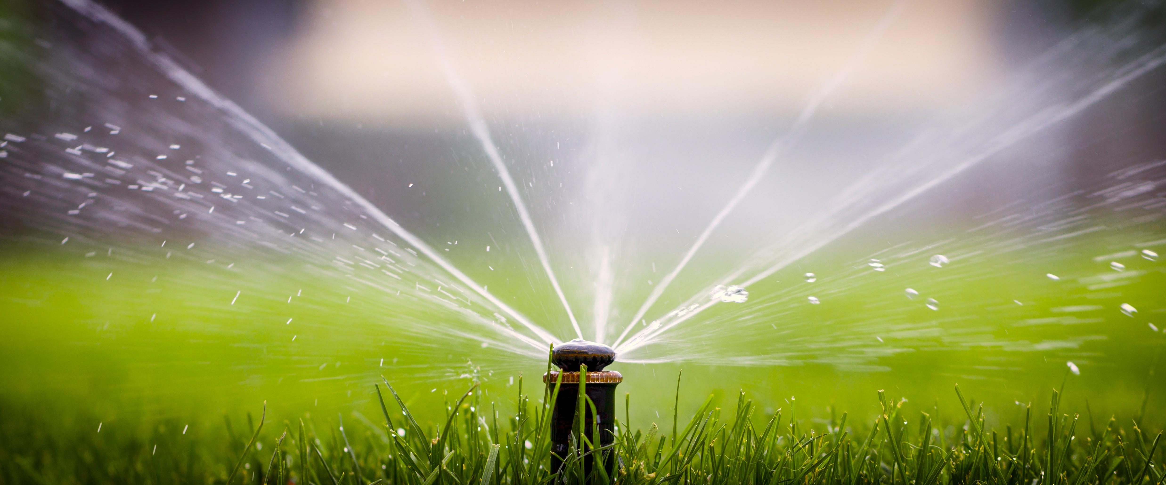 Lawn watering
